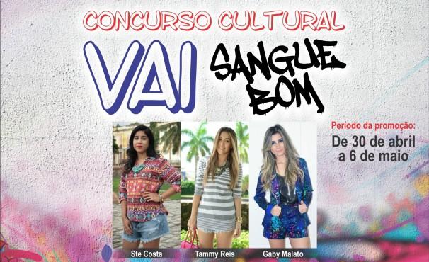 concurso cultural vai sangue bom  (Foto: Divulgação)