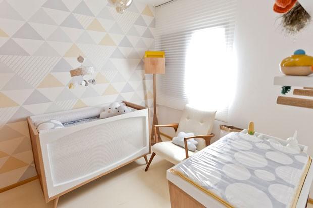 revistas de decoracao de interiores quartos:Quarto de bebê feito para durar (Foto: Mariana Lima / divulgação)