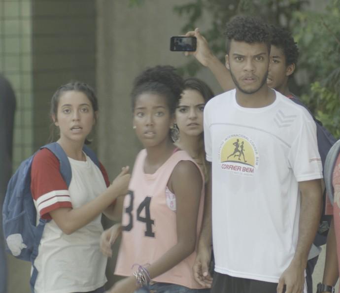 Cascudo fica assustado ao ver Durão (Foto: TV Globo)
