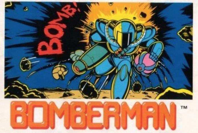 Capa da versão de Bomberman lançado para NES em 1985 (Foto: Reprodução/ gamesdb.com)