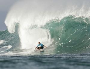 surfe Kelly Slater nas quartas do Pipeline Masters (Foto: ASP)