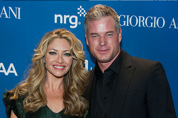 Eric Dane e Rebecca Gayheart (Foto: Getty Images)