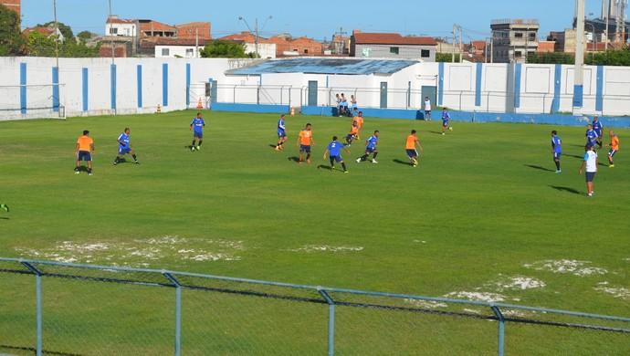Confiança vai enfrentar o Amadense  (Foto: Felipe Martins/GloboEsporte.com)