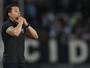 """Com números, Jair Ventura defende  jogadores na derrota: """"Foram valentes"""""""