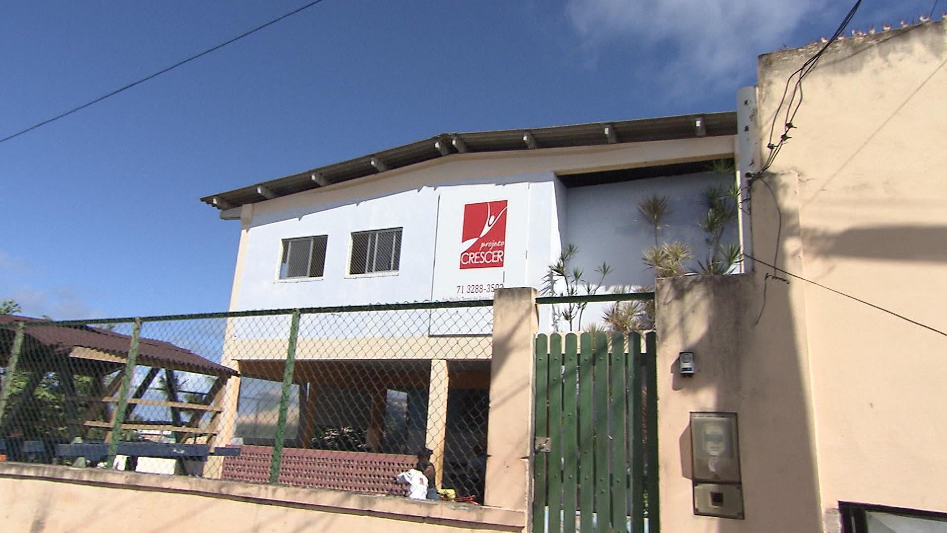 Projeto Crescer, em Lauro de Freitas, é apoiado pelo Criança Esperança (Foto: Divulgação)