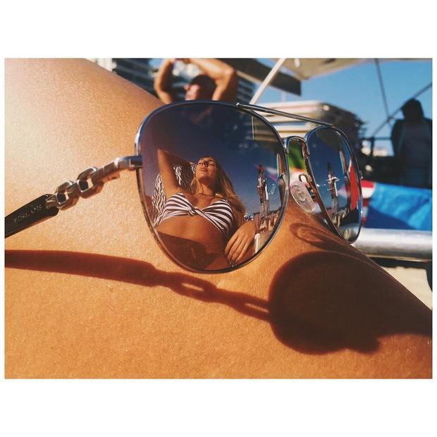 Carol Portaluppi em foto no Instagram (Foto: reprodução/instagram)