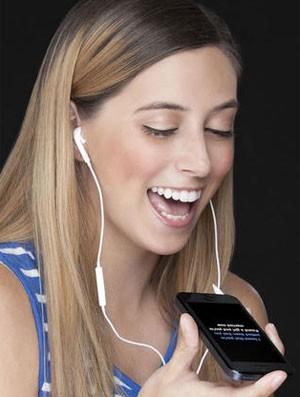 Aplicativo de karaokê no celular 'Yokee' ganha versão em português (Foto: Divulgação/Yokee)