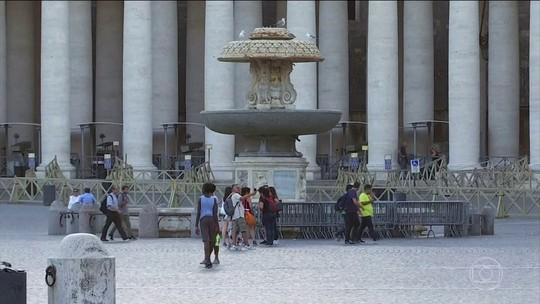 Cerca de 100 fontes do Vaticano serão desligadas por onda de calor
