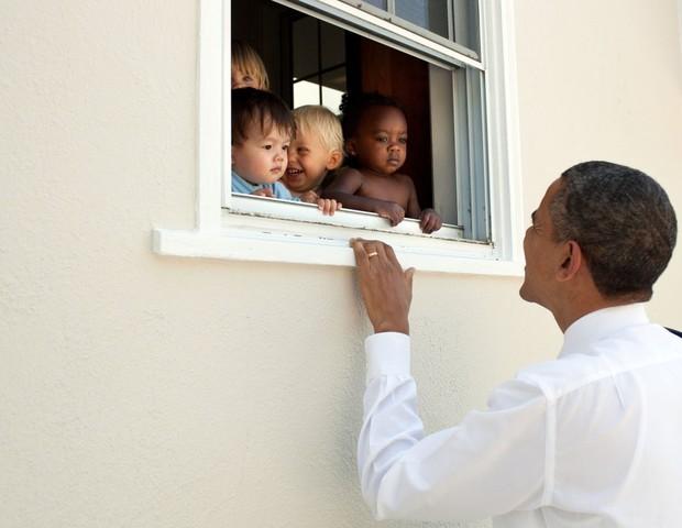 Barack Obama fala sobre os protestos de Charlottesville (Foto: Reprodução/twitter)
