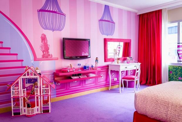 G1 hotel de buenos aires ganha quarto da barbie com for Cuartos de ninas lujosos