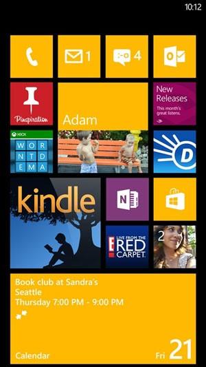 Tela do Windows Phone 7.8 (Foto: Divulgação)