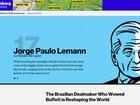 Lemann é o único brasileiro em lista de 50 mais influentes da Bloomberg