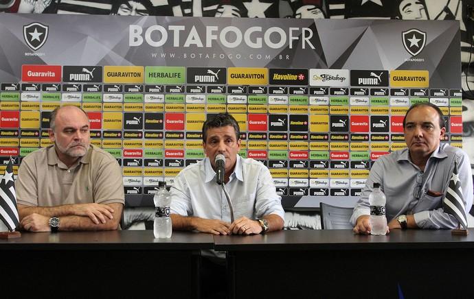 apresentação Eduardo Hungaro botafogo (Foto: Vitor Silva/SSPress)