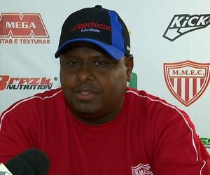 Mário Júnior, técnico do Mogi Mirim (Foto: Reprodução EPTV)