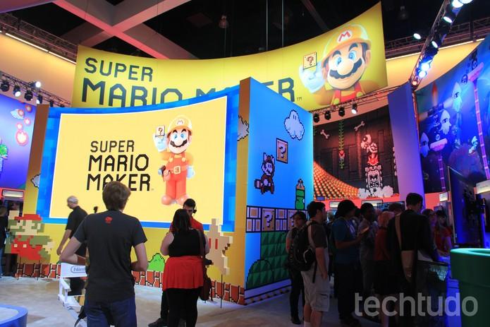 Nintendo na E3 (Foto: Viviane Werneck/TechTudo)