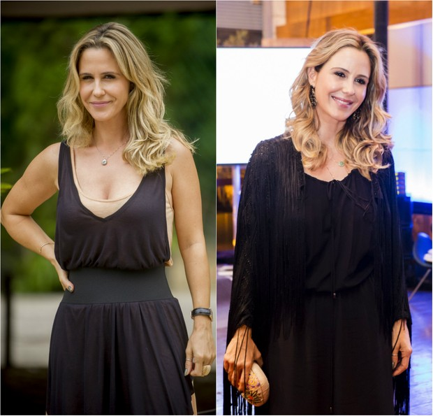 Guilhermina Guinle está loira e com cabelos mais longos para viver a socialite Pia em Verdades Secretas (Foto: TV Globo/Divulgação)
