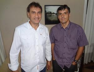 Vandick Lima, presidente, e Sérgio Serra, vice, fazem parte da chapa Novos Rumos (Foto: Gustavo Pêna/GLOBOESPORTE.COM)