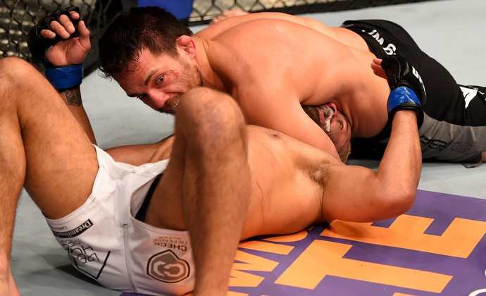 Jake Ellenberger Josh Koscheck UFC 184 (Foto: Getty Images)