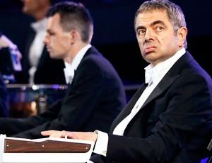 Cerimônia de abertura, Rowan Atkinson, mr bean (Foto: Agência AFP)