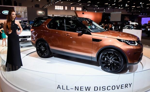 Land Rover Discovery (Foto: Flavio Moraes/G1)