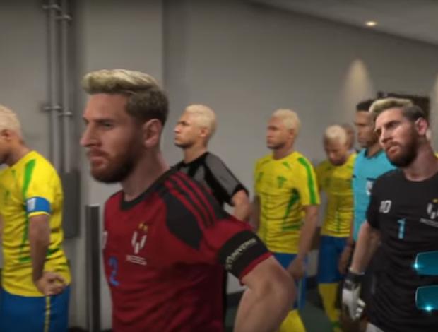 """BLOG: Canal de game promove """"Ronaldos x Messis"""" e outros confrontos impossíveis"""