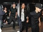 Selena Gomez e Justin Bieber chegam de mãos dadas a evento