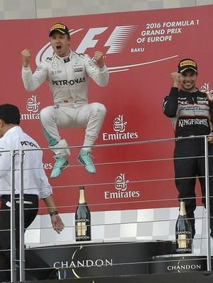 Nico Rosberg vence o GP da Europa, em Baku