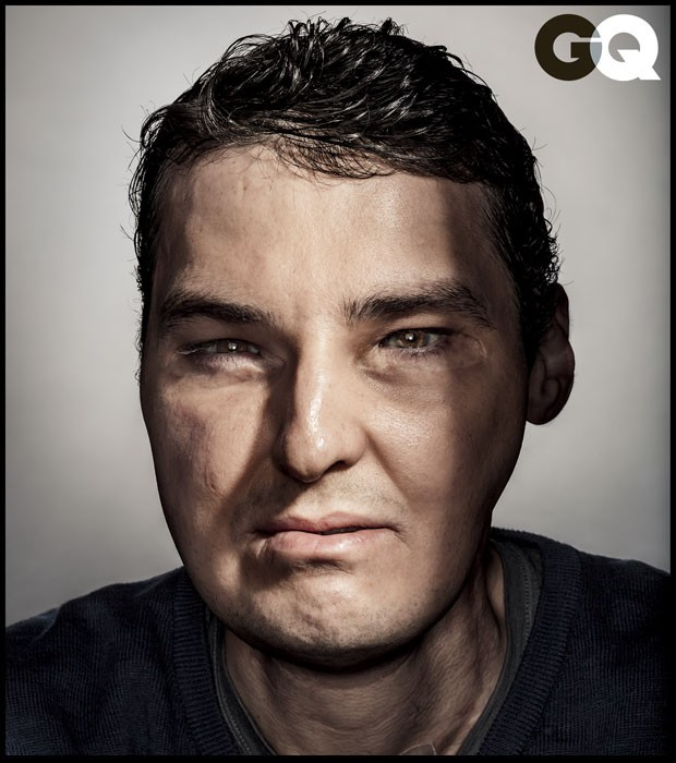 Richard Norris em foto da revista QG deste mês (Foto: Dan Winters/GQ)