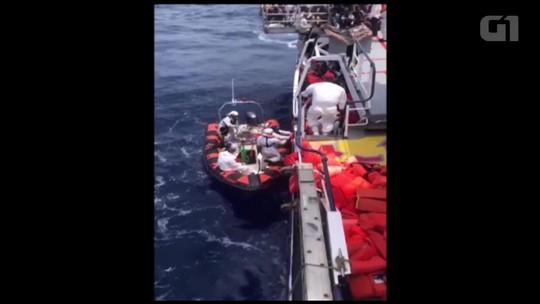 Dezenas de migrantes morrem afogados em nova tragédia no Mediterrâneo