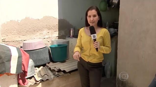 Amanda Dantas no Jornal Nacional (Foto: Reprodução / Rede Globo)