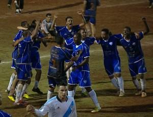 Brumadinho é o campeão do Torneio Corujão (Foto: Reprodução / Globoesporte.com)
