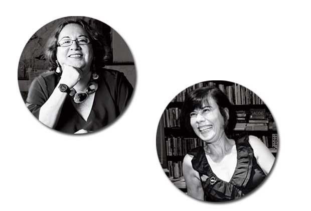 Mirian Goldenberg e Regina Navarro Lins (Foto: Globo Press)