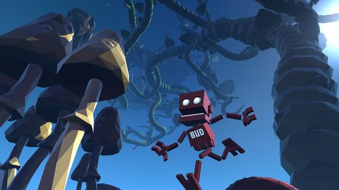 Grow Home é baseado em ambientes desenvolvidos de maneira procedural (Foto: Divulgação/Ubisoft)