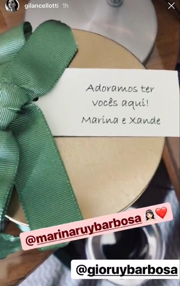 Gi Lancelloti se prepara para o casamento de Marina Ruy Barbosa (Foto: Reprodução/Instagram)
