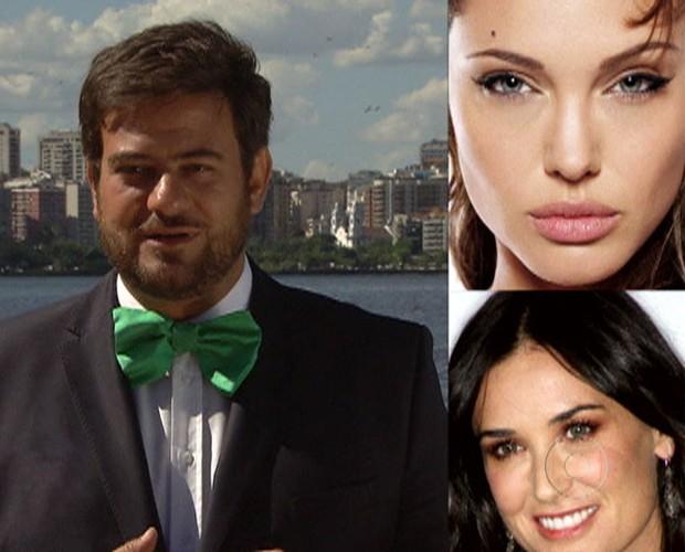 Demi Moore e Angelina Jolie são adeptas aos novos produtos (Foto: Mais Você / TV Globo)