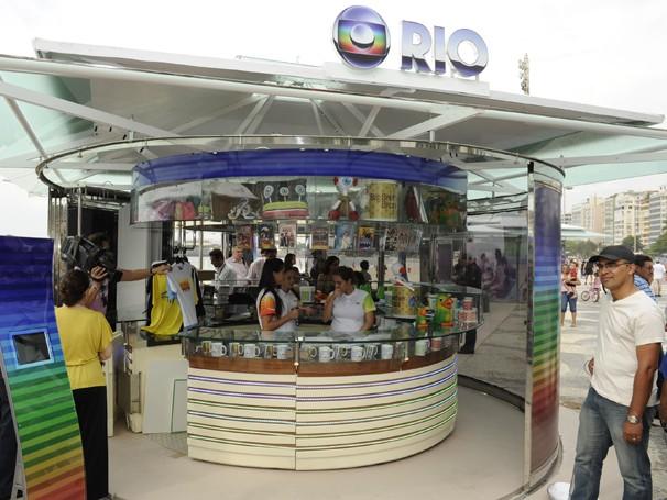 Quiosque Globo Rio terá a presença do 'Globolinha', mascote dos esportes da Rede Globo (Foto: Divulgação/ TV Globo)