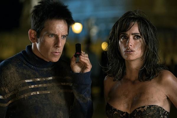 Ben Stiller e Penélope Cruz em Zoolander 2 (Foto: Divulgação)
