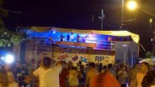 Carnaval começou com festa do trio elétrico da RPC, em Pontal (Divulgação/ RPC)