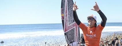 8ª etapa: Jordy é campeão em Trestles (Divulgação/WSL)