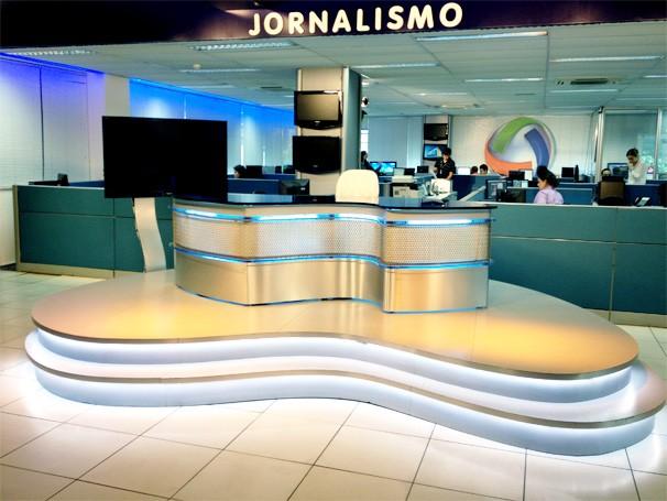 Estúdio Jornalismo 2014 (Foto: TVCA)