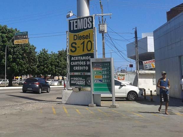 Reajuste foi repassado ao consumidor no sábado (30) (Foto: Fernanda Zauli/G1)