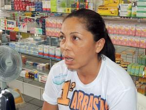 Edione fechou lotérica de Lagoa de Velhos, no RN, após assalto em que levaram R$ 40 mil (Foto: Fred Carvalho/G1)