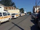 Perueiros entram em greve em Eldorado, no Vale do Ribeira, SP