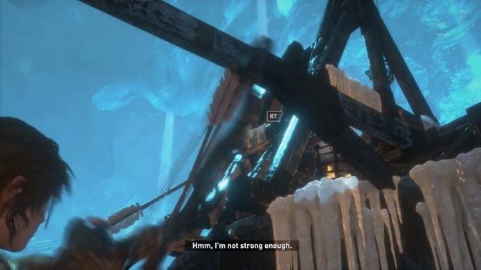 Frase de Lara Croft em Rise of the Tomb Raider remete a Angel of Darkness no PlayStation 2 (Foto: Reprodução/WikiRaider)