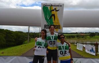 De olho no Mundial de cross country, paulista vence o Brasileiro de rollerski