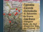Polícia apreende mapa com suposto roteiro de roubos a bancos da região