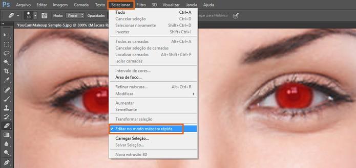 Desmarque a visualização de máscara no Photoshop (Foto: Reprodução/Barbara Mannara) (Foto: Desmarque a visualização de máscara no Photoshop (Foto: Reprodução/Barbara Mannara))