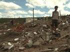 Barracos são demolidos e cerca de 125 famílias ficam desabrigadas na BA