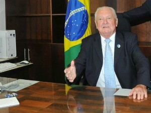 Político foi prefeito de Jaraguá do Sul duas vezes (Foto: J. L. Cibils/Divulgação)