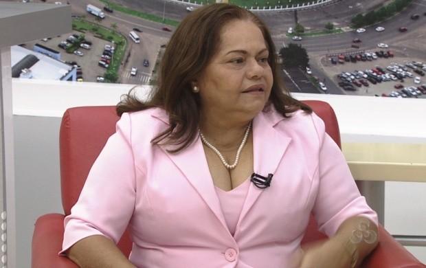 Presidente da Liga Roraimense de Combate ao Câncer fala sobre projeto arquitetônico (Foto: Bom Dia Amazônia)